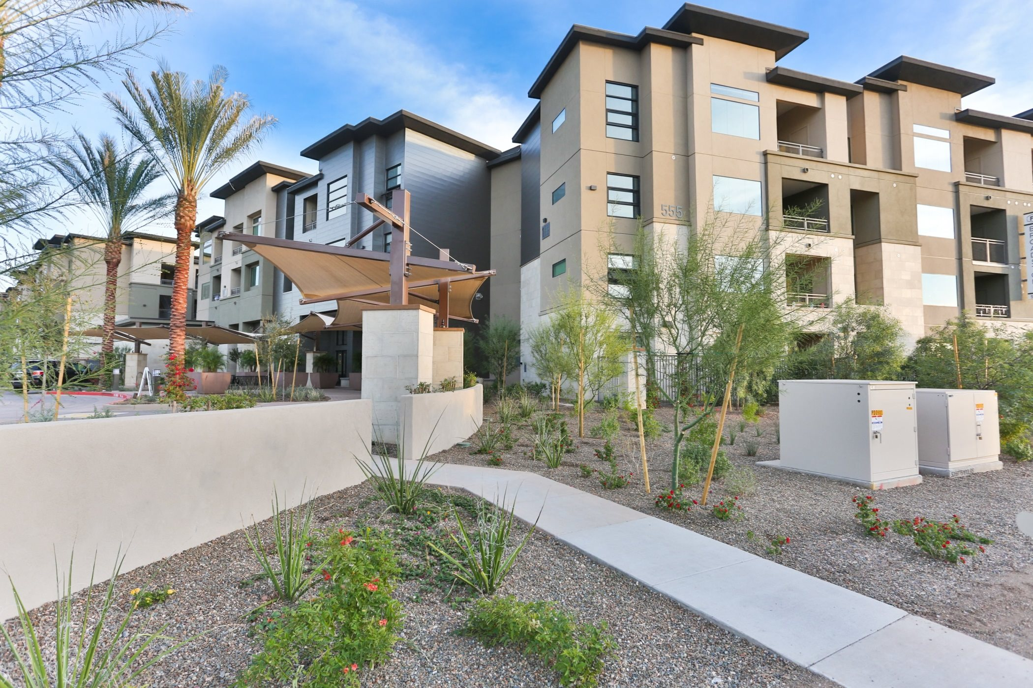 External Apartment View at Fashion Center, Chandler, AZ 85226