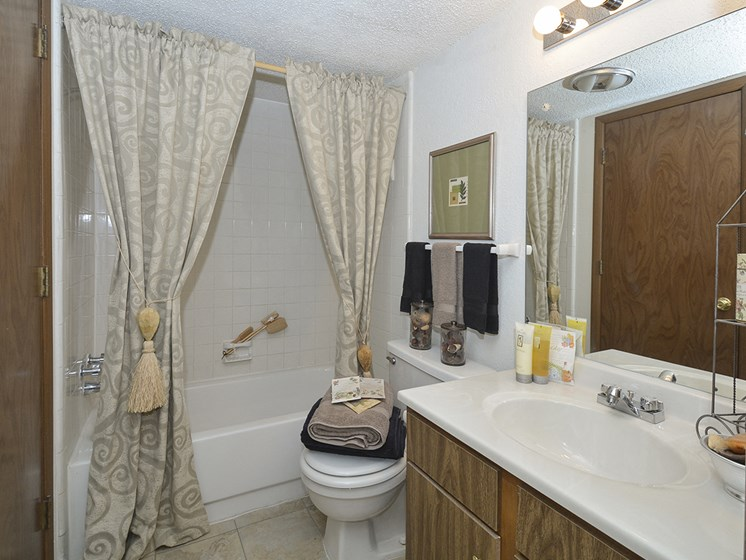 Large Bathrooms in Home