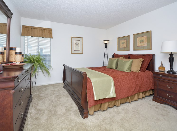 Spacious Bedrooms for Furntiture