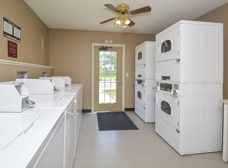 Laundry Facilities in Community