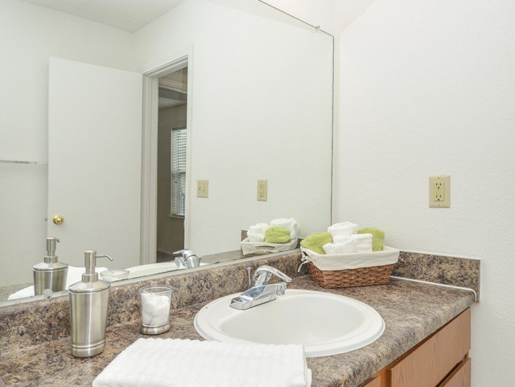 Large Bathroom Countertop