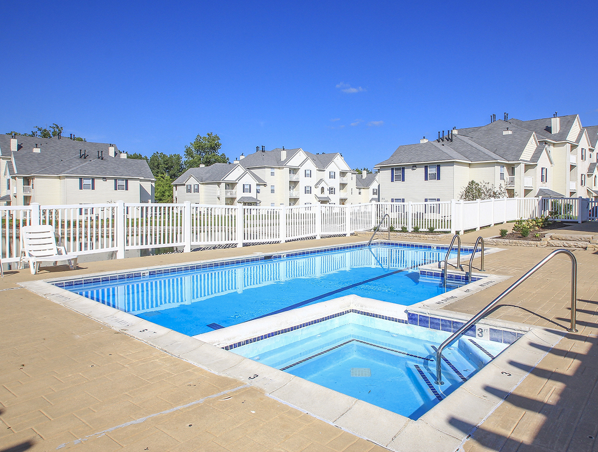 Sundeck Surrounding Outdoor Pool