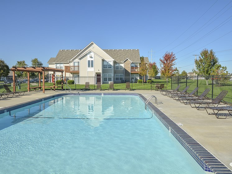 Outdoor Pool and Spacious Sundeck