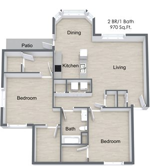 Two Bedroom - A