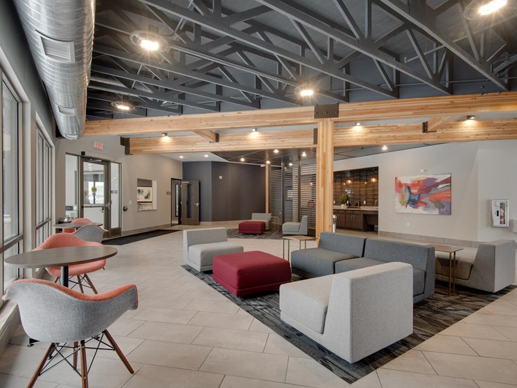 Coffee Bar and Hospitality Station at TRIO @ southbridge, Minnesota
