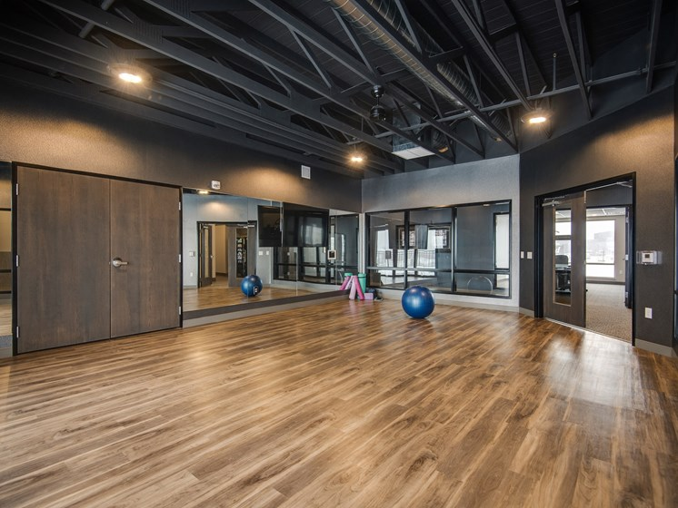 Indoor Yoga Studio at TRIO @ southbridge, Shakopee