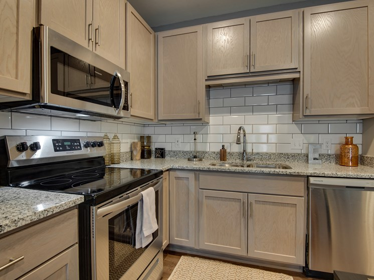 Spacious Kitchen with Pantry Cabinet at TRIO @ southbridge, Minnesota, 55379