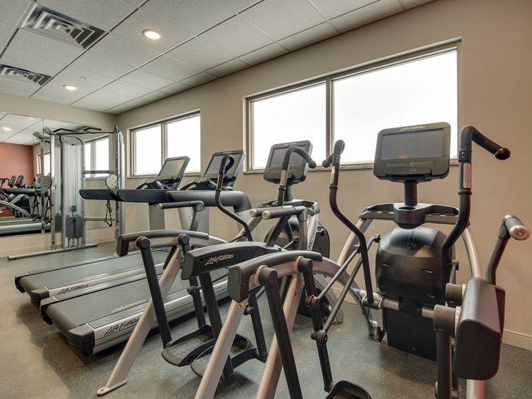 Cardio Equipment at TRIO @ southbridge, Shakopee, MN