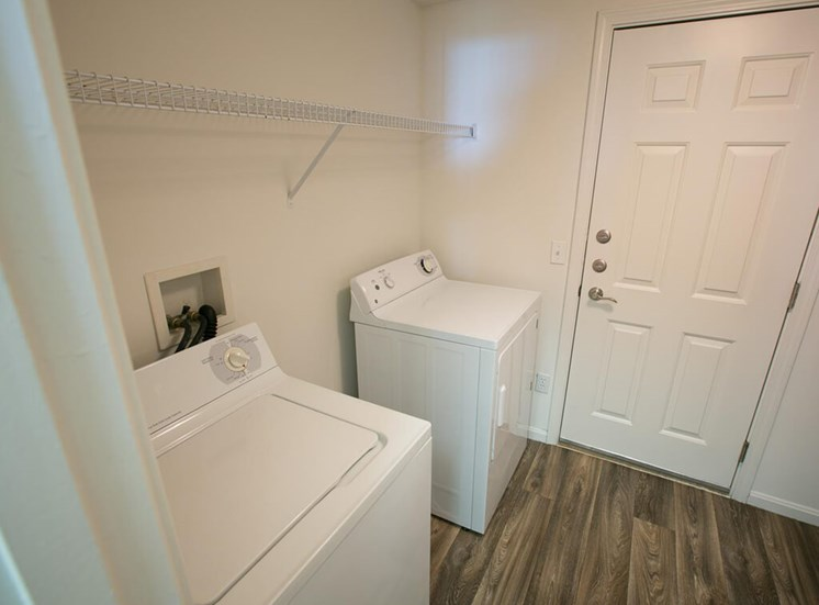 full size washer dryer at The Residence at Barrington Apartments in Aurora, OH