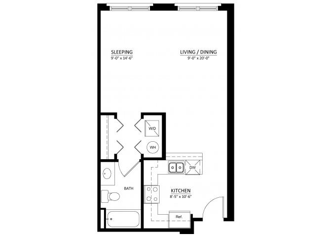 Studio, 1, & 2 Bedroom Apartments in Fairfax VA | Dwell ...