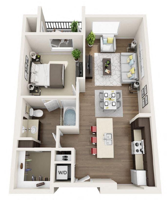 A1E Floor Plan 4