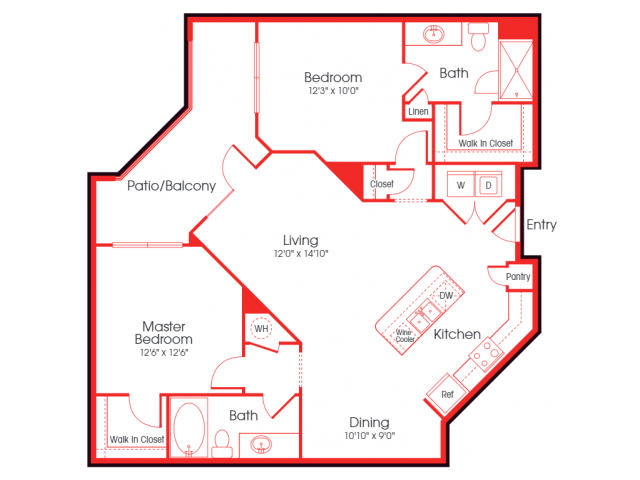 B2A- Paige Floor Plan 20