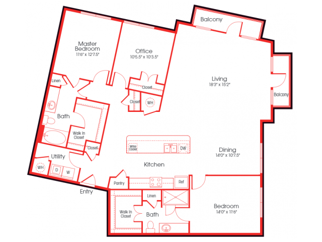 B5A- Koufax Floor Plan 25
