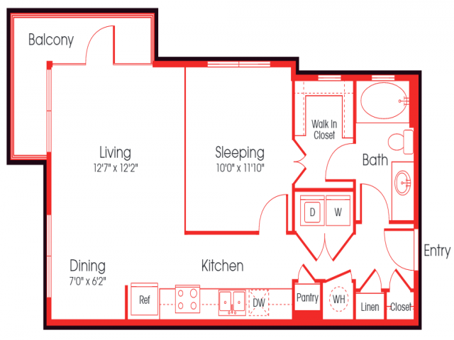 L1C Bump-Out Entrance/ Foxx Floor Plan 12