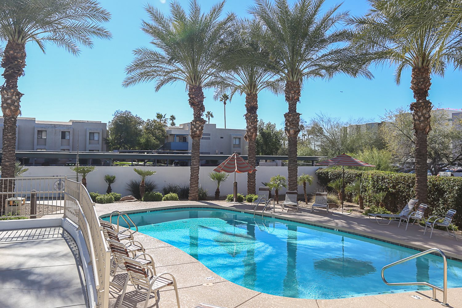 pool, pool patio at Villa Contento Apartments in Scottsdale, AZ