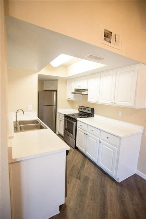 Kitchen at Copper Point Apartments in Mesa, AZ