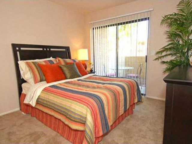 bedroom at Acacia pointe apartments in glendale az