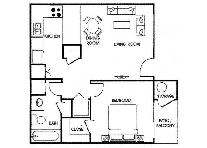 Floor Plans Acacia Point Apartments Glendale Az