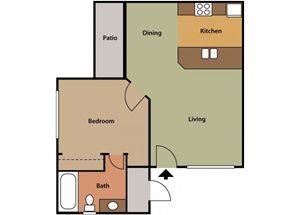 Medium One Bedroom