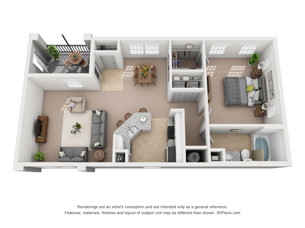 A4 - Picasso Carriage Floor Plan 4