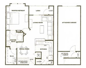 Chelsea - 1 Bedroom, 1 Bath, Garage