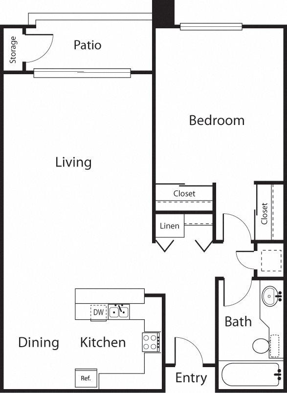 The Elms Floor Plan 1