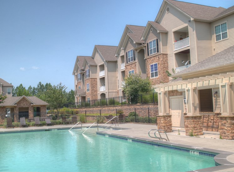 Luxury Apartments in Lithonia| Wesley Stonecrest Apartments | Relax by our Pool