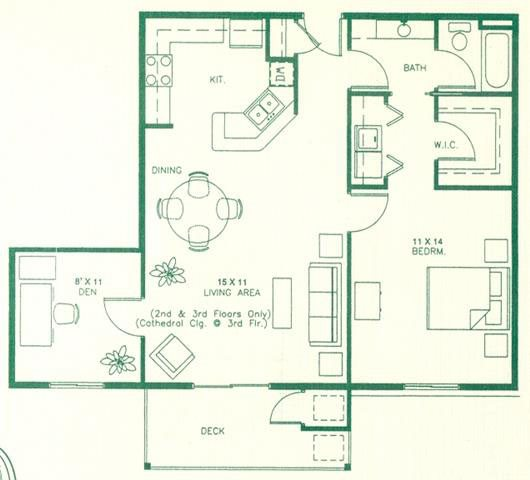 Floor Plans Of Royal Oak Apartments In Sioux Falls, SD