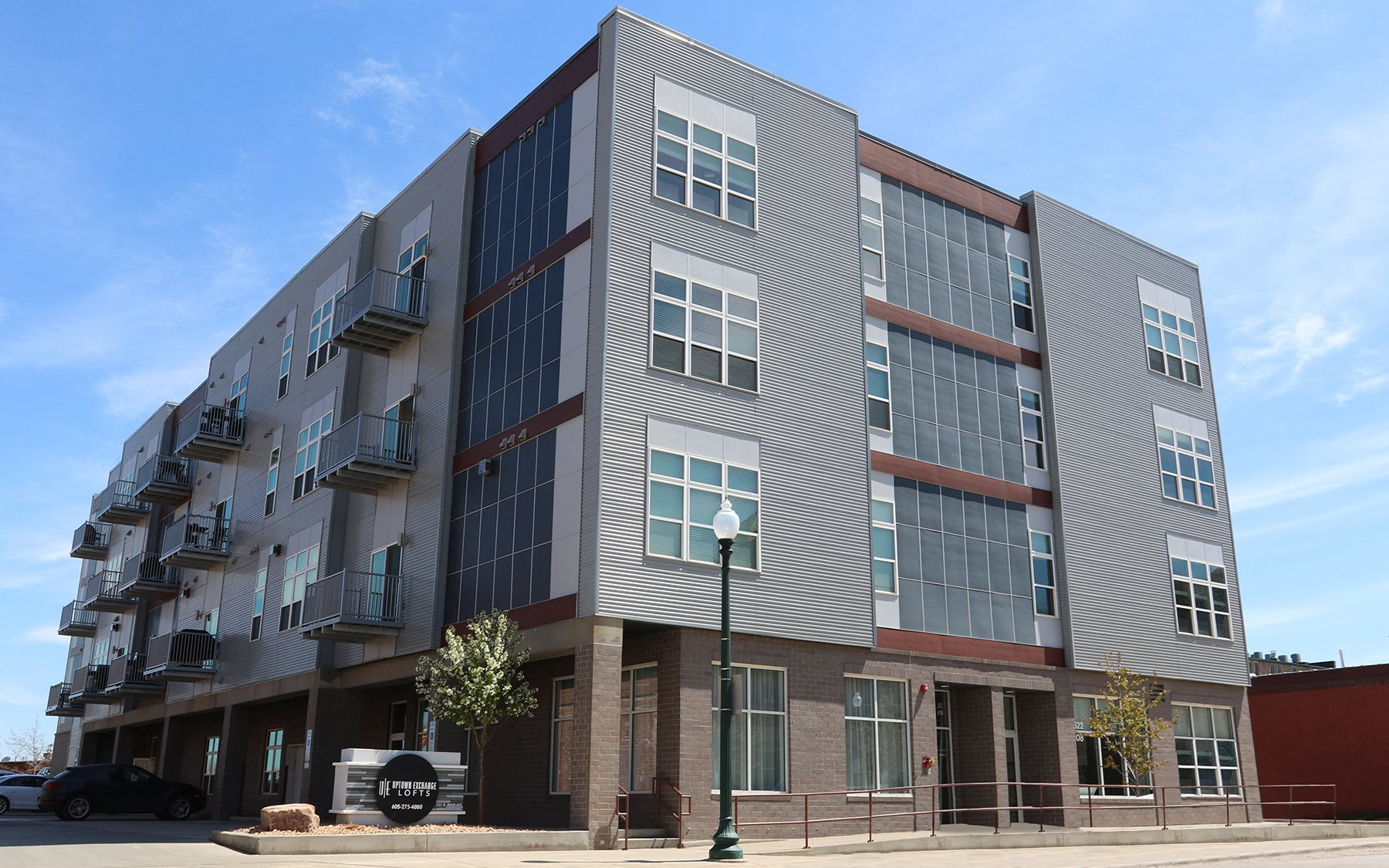 Sioux Falls Property Logo 19 Uptown Exchange Lofts Exterior