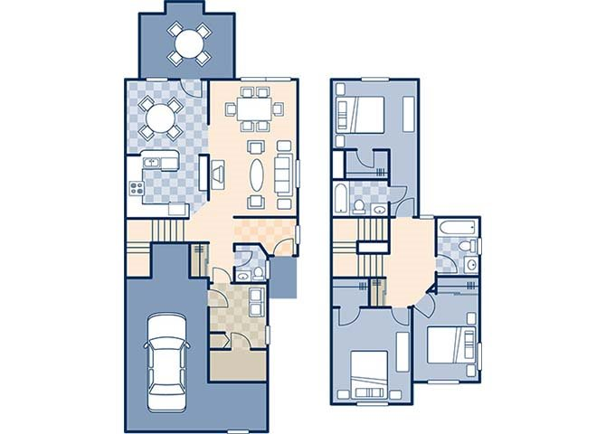 Ocotillo Manor 1419 Floor Plan 2