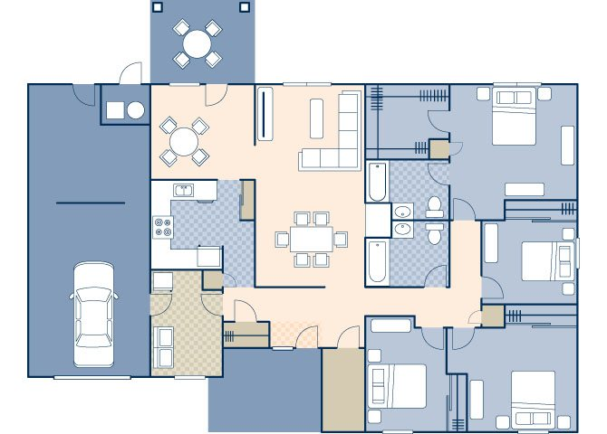 Ocotillo Manor 1797 Floor Plan 4