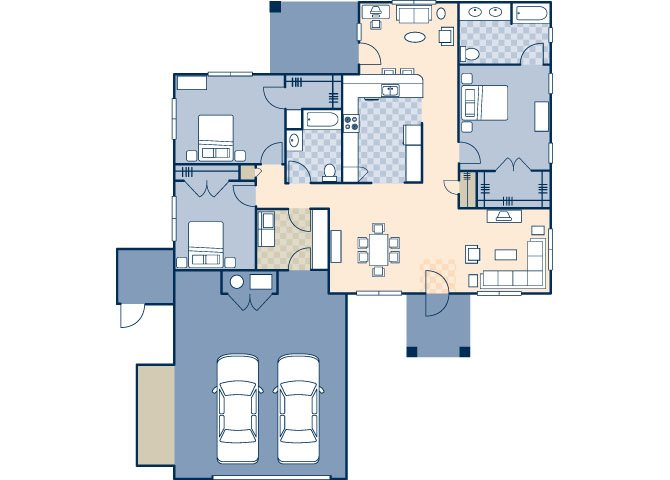 Saguaro Manor Zuni Loop 1628 Floor Plan 25