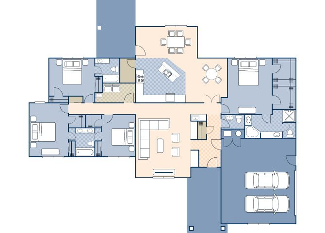 Saguaro Manor Command 2545 Floor Plan 30