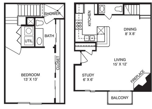 T1 Floor Plan 4
