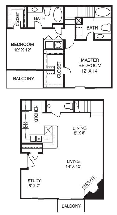 T2 Floor Plan 6