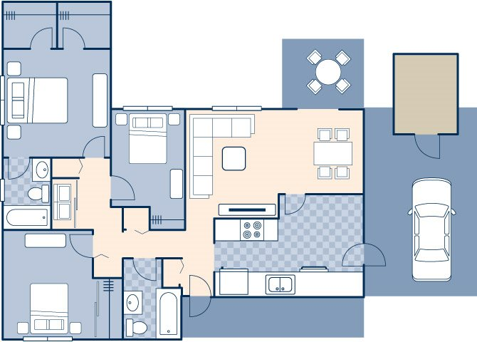 Freedom Estates 1198 Floor Plan 3