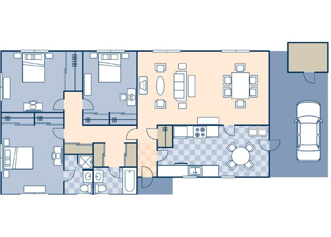 Freedom Estates 1261 Floor Plan 4