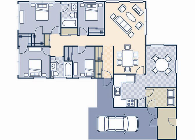 Freedom Estates 1450 Floor Plan 11