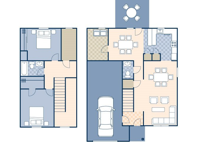 Heritage Heights 1123 B Floor Plan 16