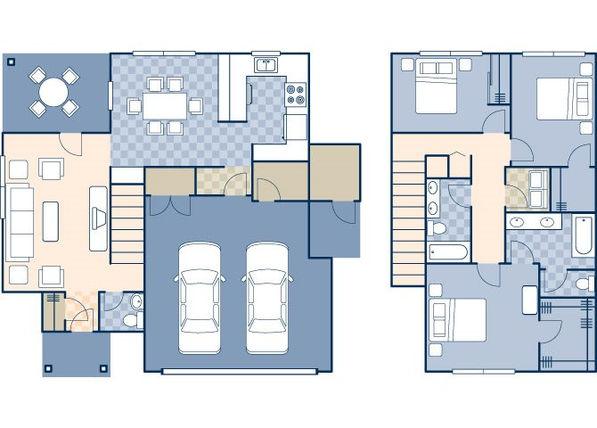Wind Creek Village 1615 Floor Plan 20