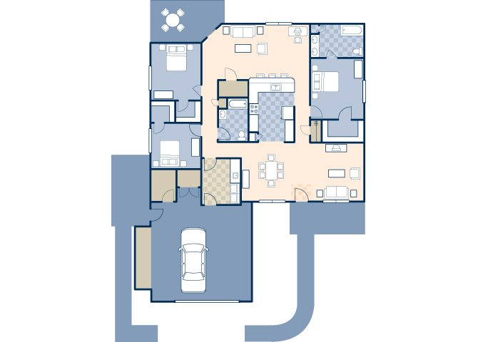 Wind Creek Village 1817 Floor Plan 19