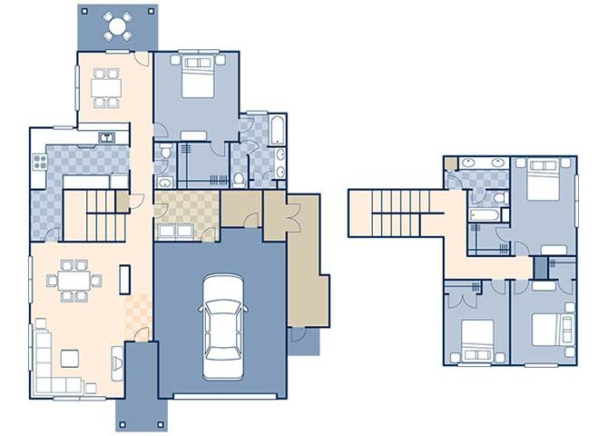 Wind Creek Village 1755 Floor Plan 23