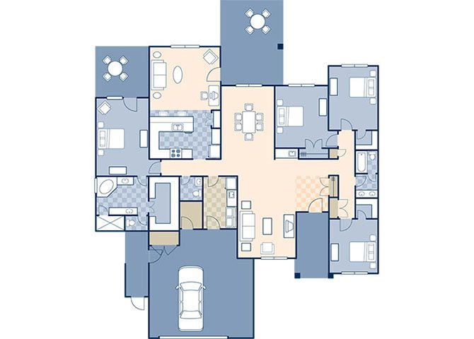 Wind Creek Village 2210 Floor Plan 25