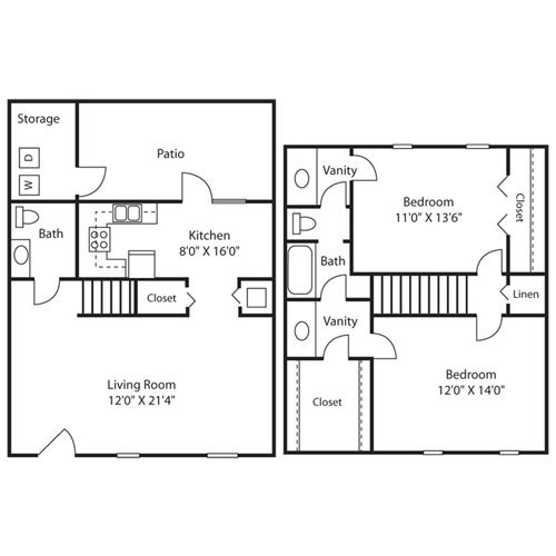 Floor Plans Of Yester Oaks In Mobile Al