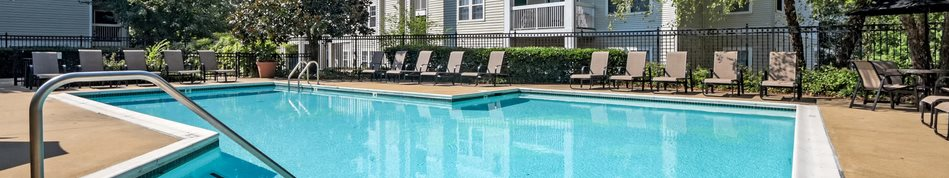 Relaxing Pool at Sanger Place, Lorton, VA, 22079