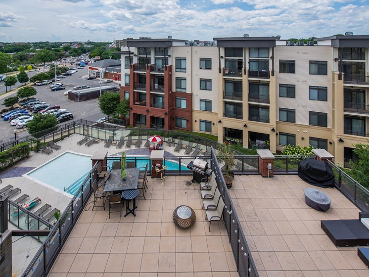 Aerial View Of Property at Flats at Atlas, Washington, DC