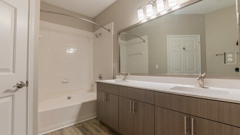 Newly Renovated Bathrooms with Dual Vanity Sinks!