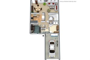 3 Bedroom 2.5 Bath Townhouse