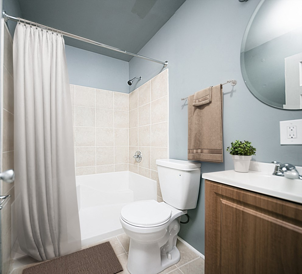 Spacious Bathrooms at The Georgian on South Potomac, Hagerstown, MD, 21740