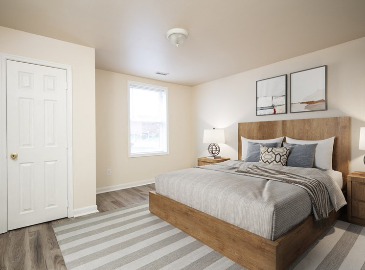 Private Master Bedroom at Addison Place, Maryland